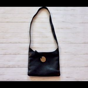 Sak Black Leather Purse.